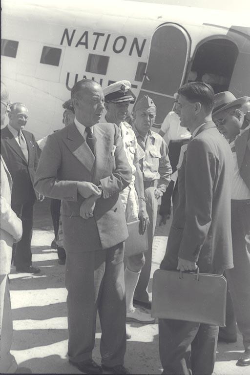 The First Bernadotte Plan - Photo of Landing