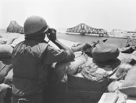 War of Attrition - Suez Canal Photo (1970)