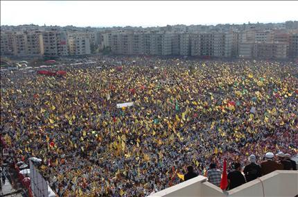 2006 Lebanon War - Hezbollah Victory Rally Photo