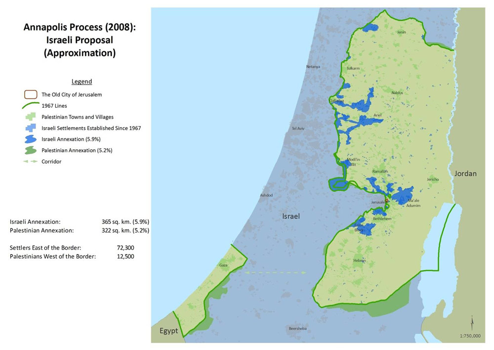 Annapolis Process - Israeli Proposal - General - English (2008)