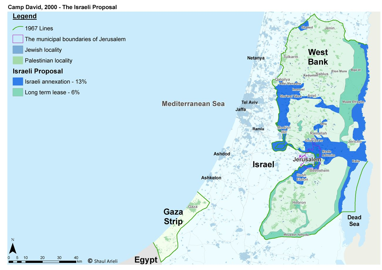 Camp David Summit - Israeli Proposal - General - English (2000)